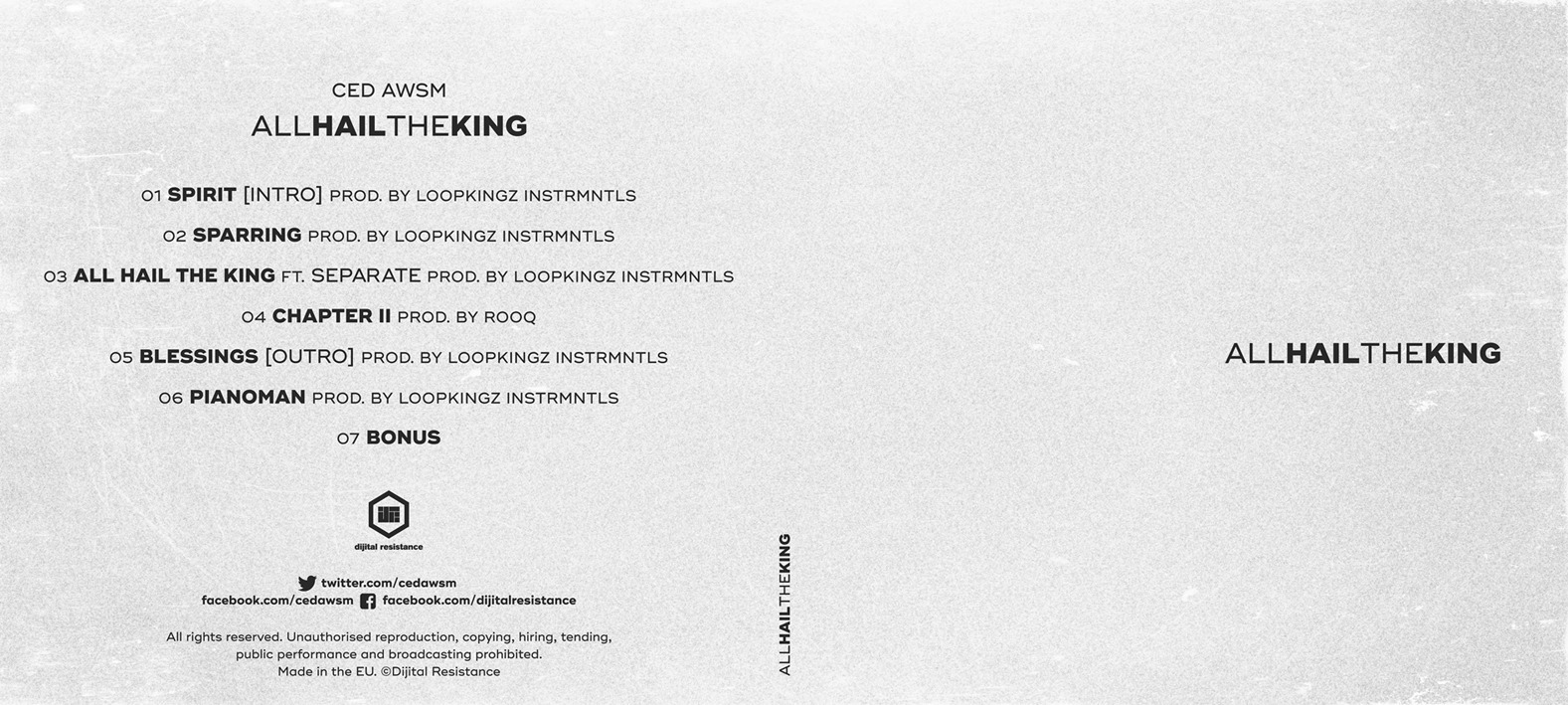 CED AWSM - allHAILtheKING