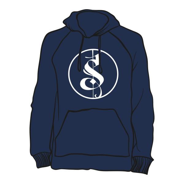 Blauer Separate Logo Hoodie