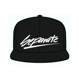 One Size Fits All Cap in schwarz Flexfit