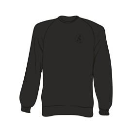 Schwarzer Separate Logo Sweater