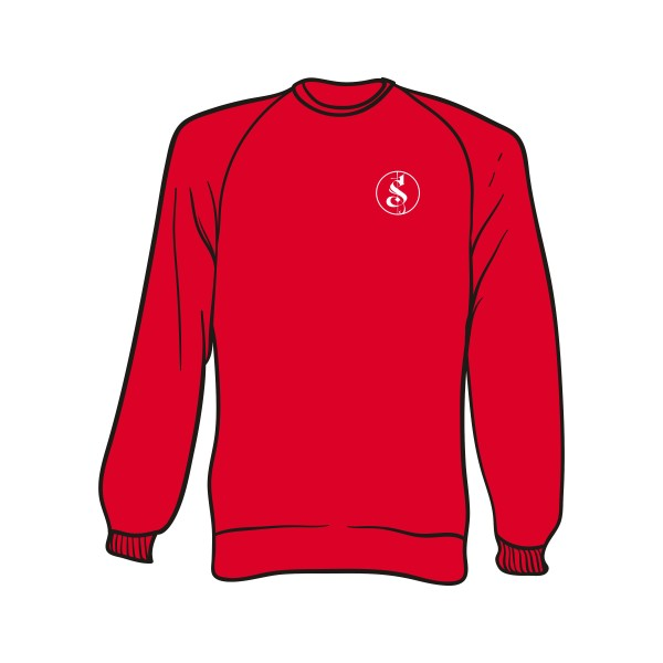 Roter Separate Logo Sweater