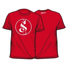 Rotes Separate Logo Shirt