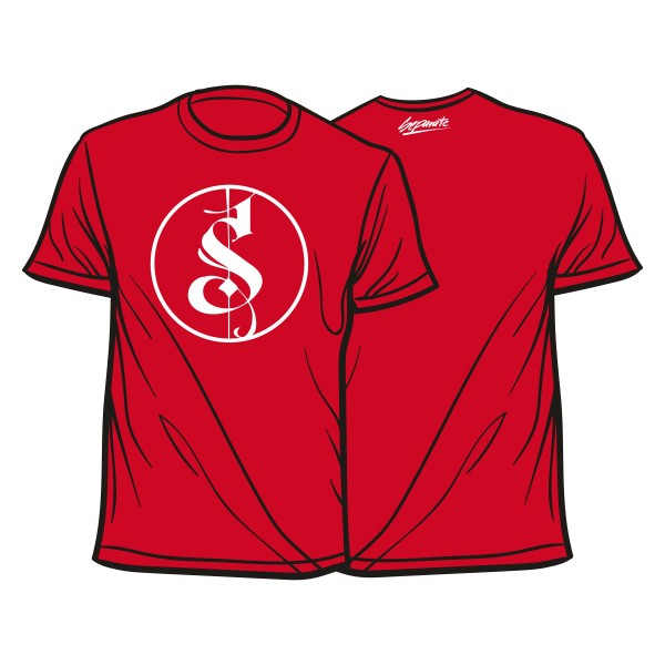 Rotes Separate Logo Shirt