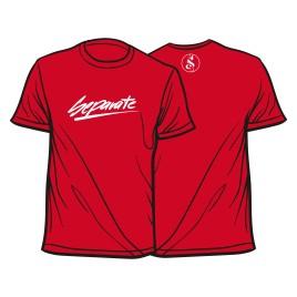 Separate Schriftzug rot Shirt