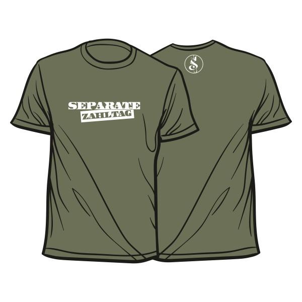 Separate Zahltag Shirt khaki