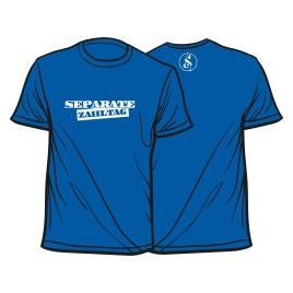 Separate Zahltag Shirt blau